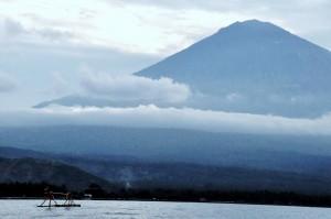 Lever du soleil Mont Batur Bali