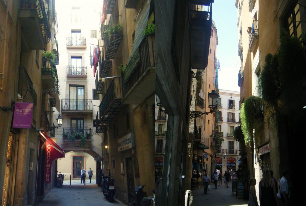 Ruelles-Ville-Barcelone