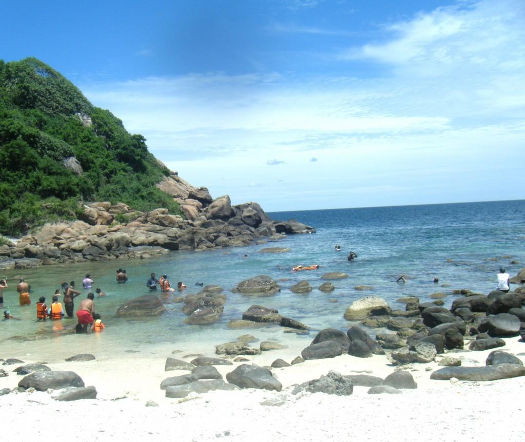 Pigeon Island plage