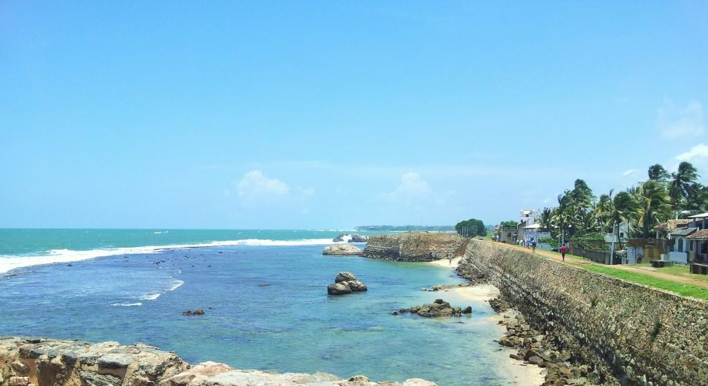 la ville fortifiée de Galle au Sri Lanka