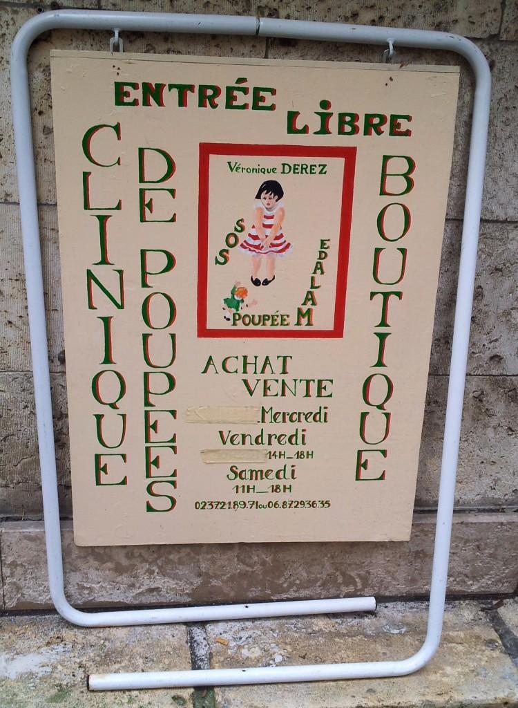 réparation de poupées à Chartres