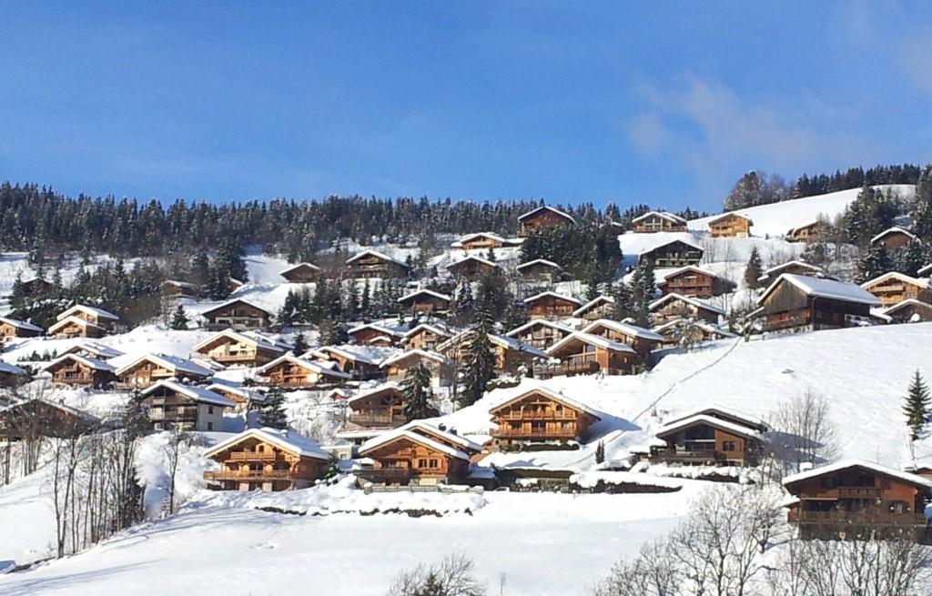Village de la Clusaz en Haute Savoie