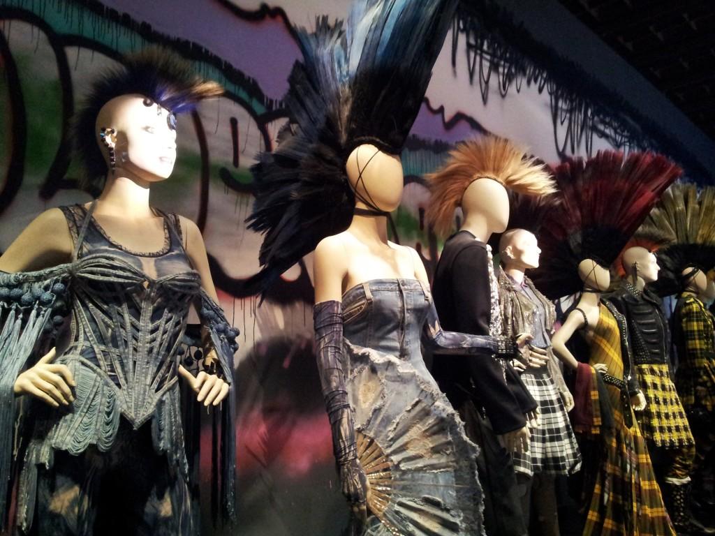 Exposition jean paul gaultier Grand Palais Paris