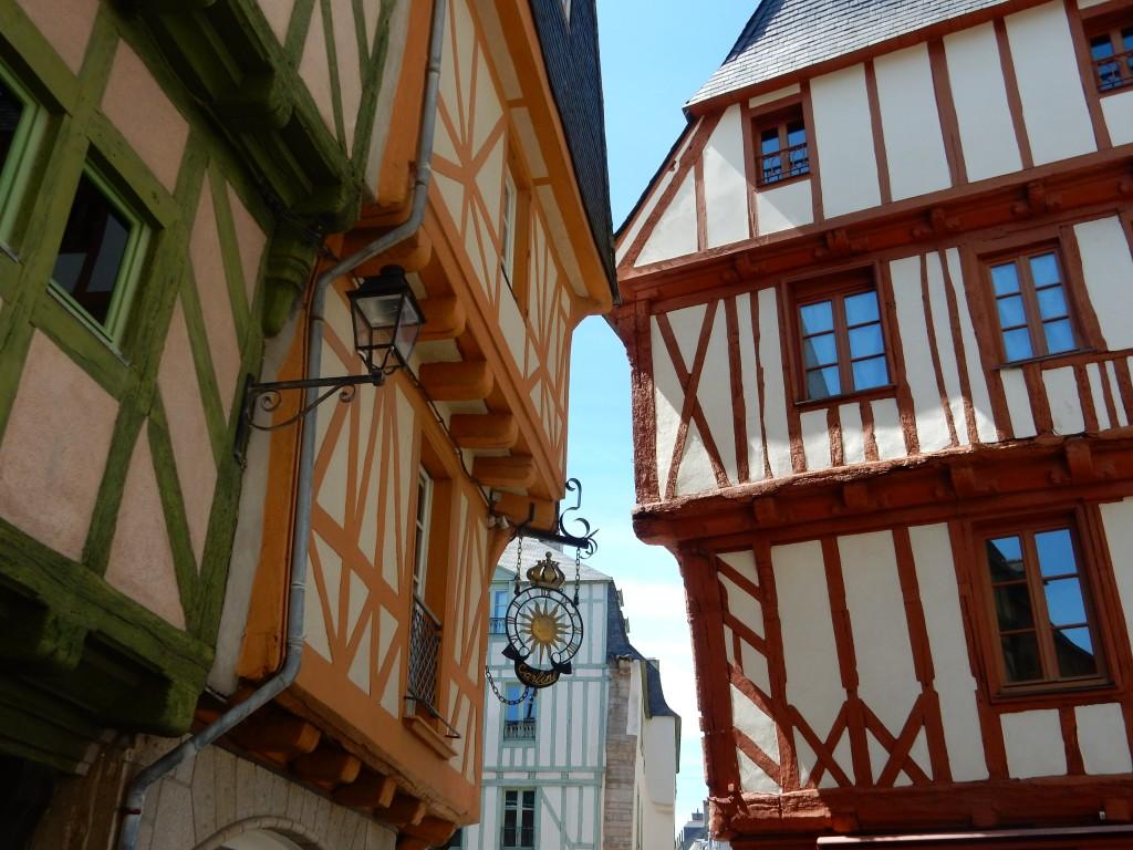 balade dans la vieille ville de Vannes en Bretagne