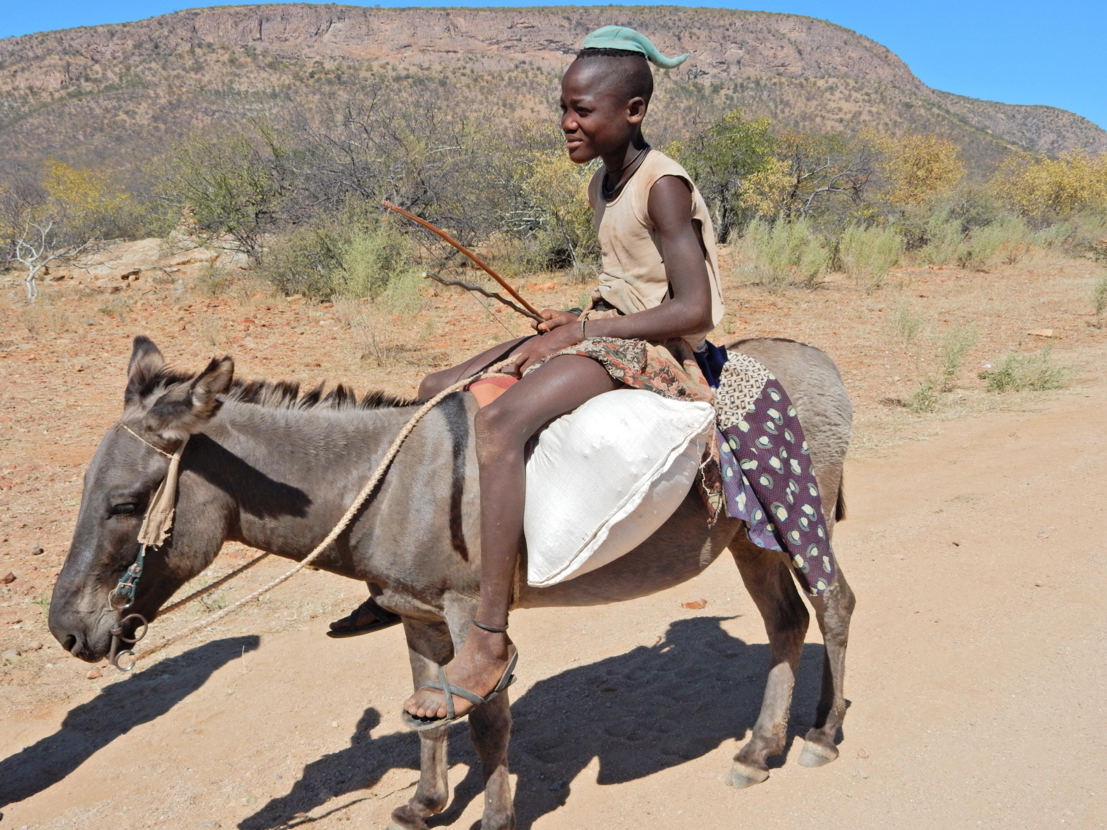 DSCN1178 Visite dun village Himba