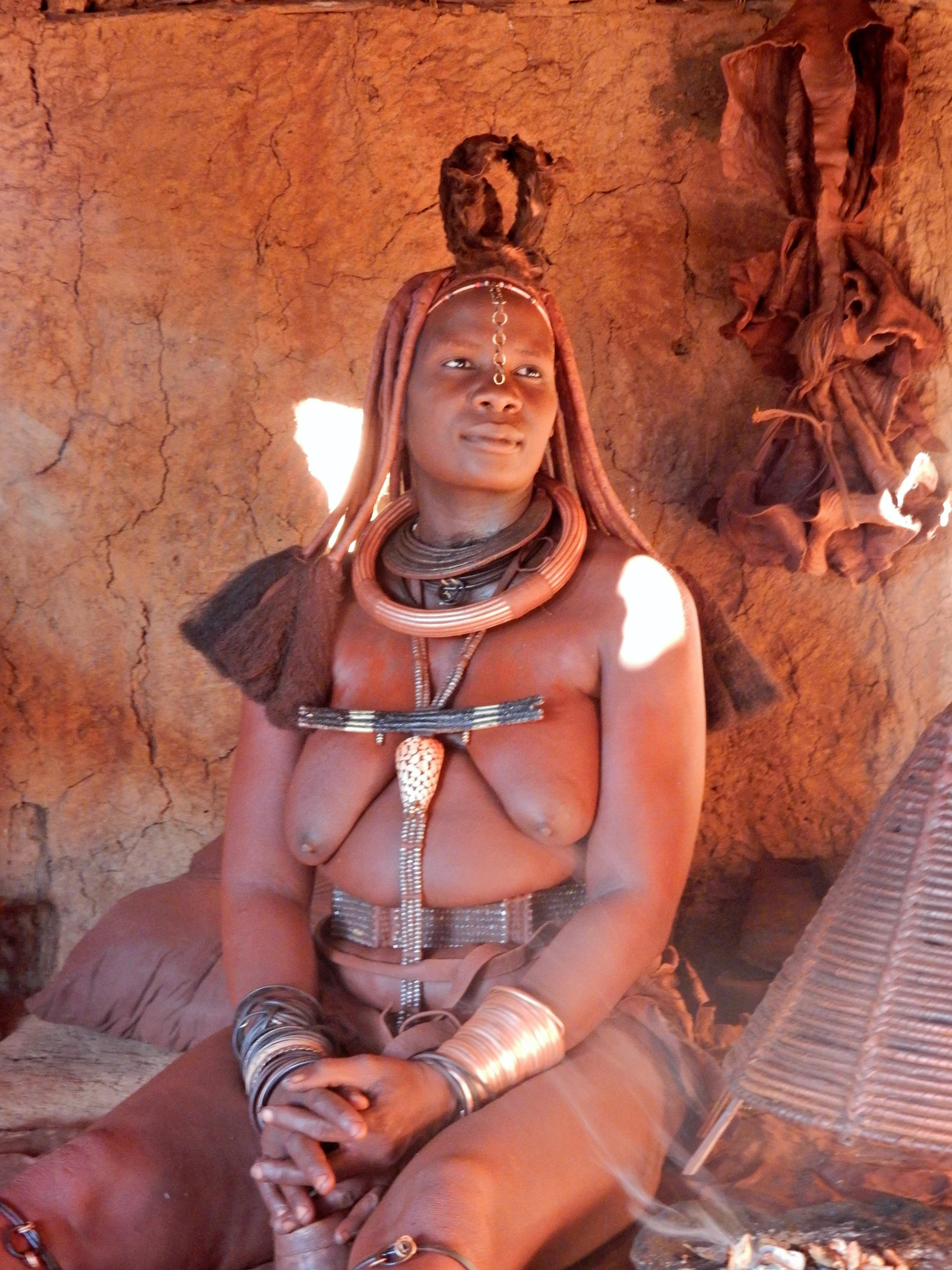 DSCN1249 Visite dun village Himba