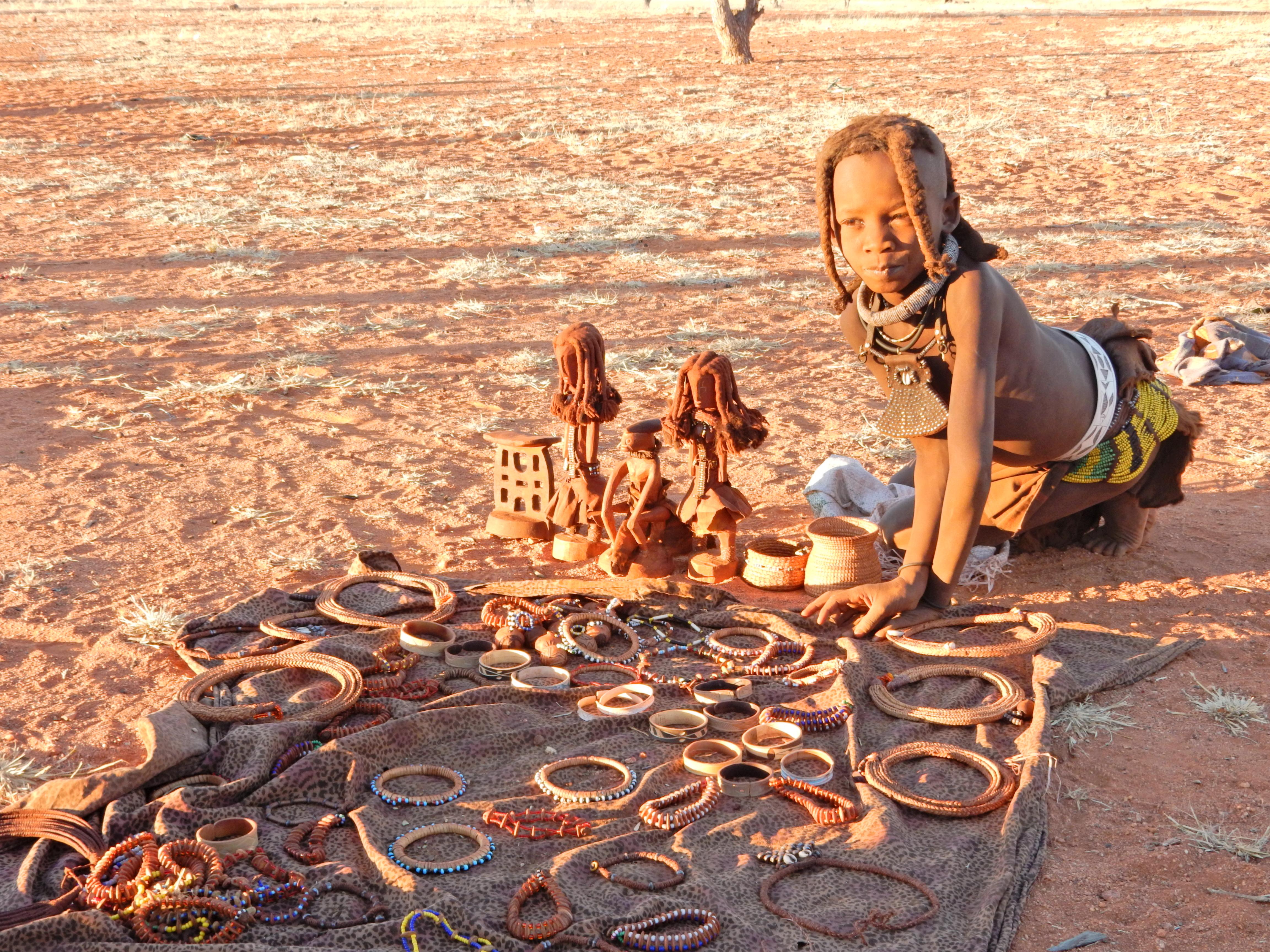 DSCN1275 Visite dun village Himba
