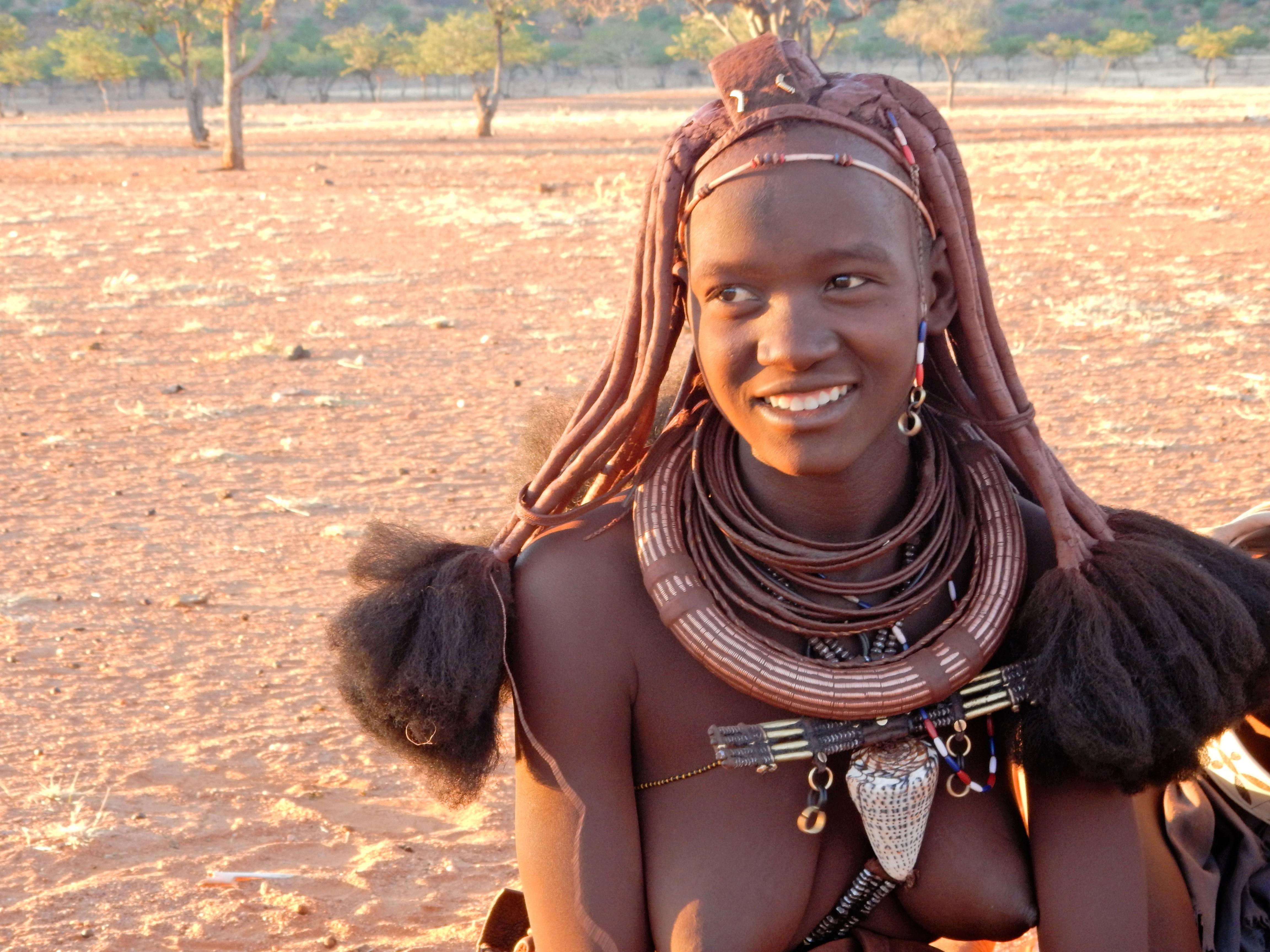 DSCN1293 Visite dun village Himba
