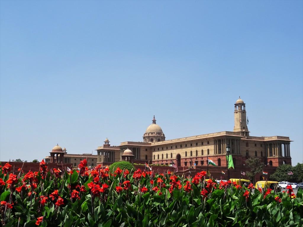Parlement-New-Delhi