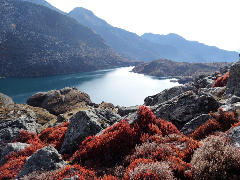 Lac de Gosainkud au Népal