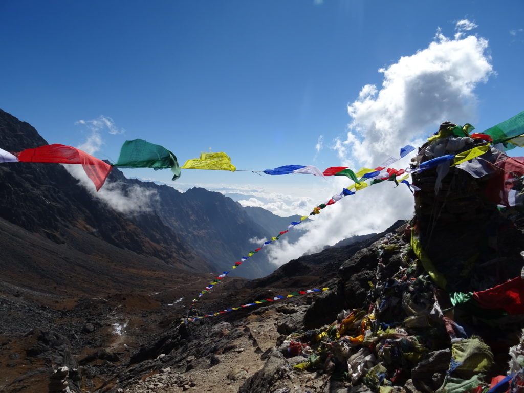 LAUREBINA PASS AU NEPAL